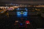Фестиваль света на Дворцовой, 2017 г.