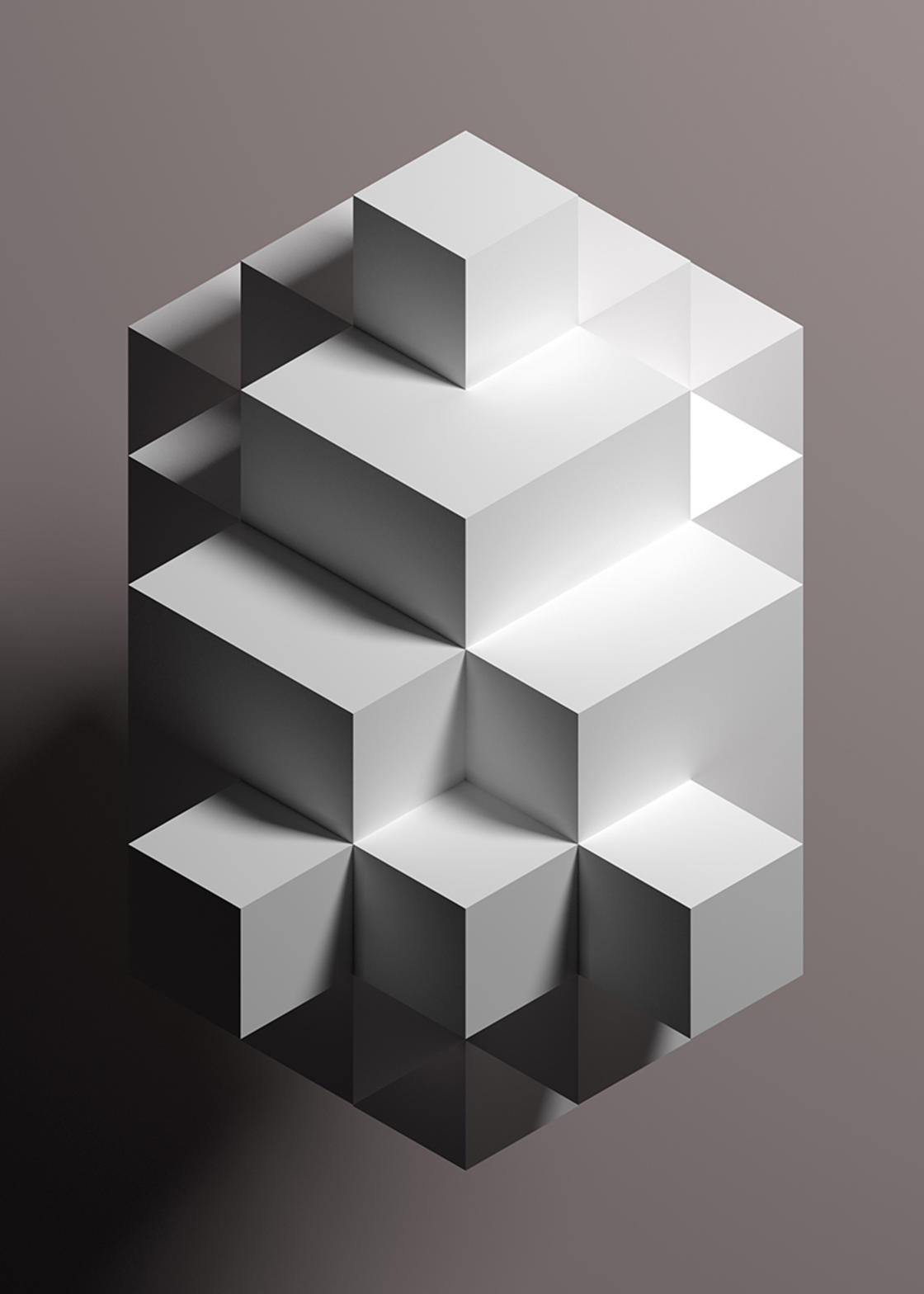 Deep Shapes – Beautiful minimalist posters by Deepyellow
