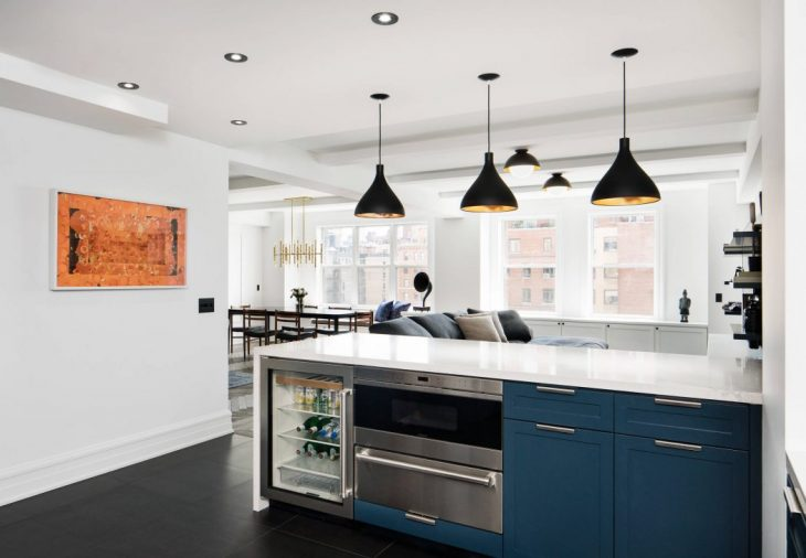 Take A Tour of The Hudson River Park Apartment by StudioLAB