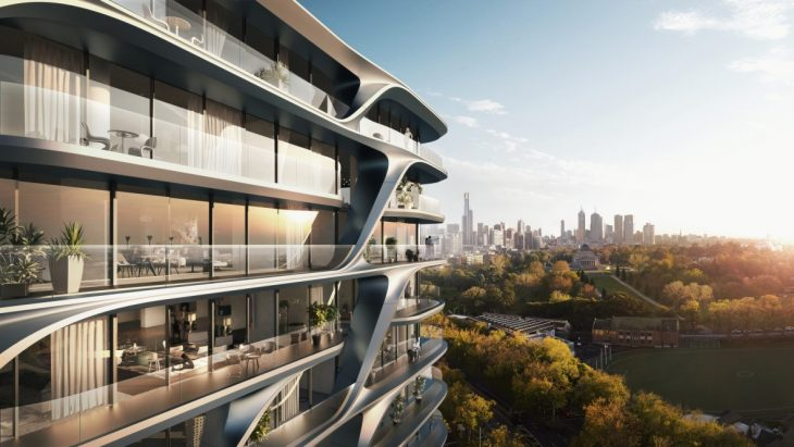 Mayfair Residential Tower by Zaha Hadid Architects
