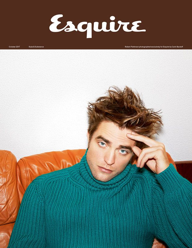 Robert Pattinson is the Cover Boy of Esquire UK October 2017 Issue