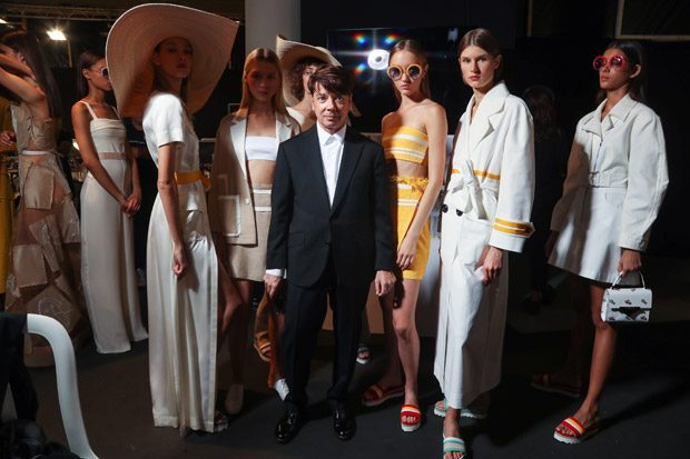 Backstage at VALENTIN YUDASHKIN Spring Summer 2018 Fashion Show