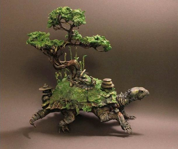 Surreal Animal Sculptures - Ellen Jewett