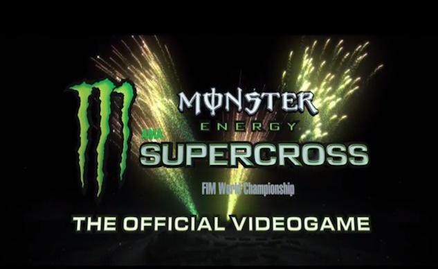 Видеоигру Monster Energy Supercross выпустят 18 февраля 2018
