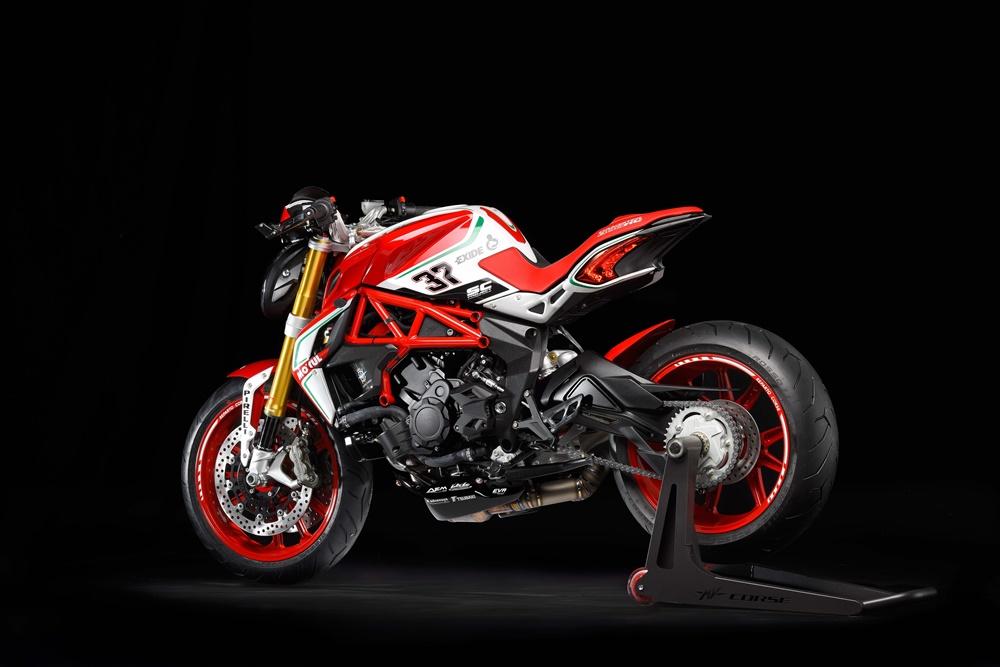 Новый мотоцикл MV Agusta Dragster 800 RC 2018