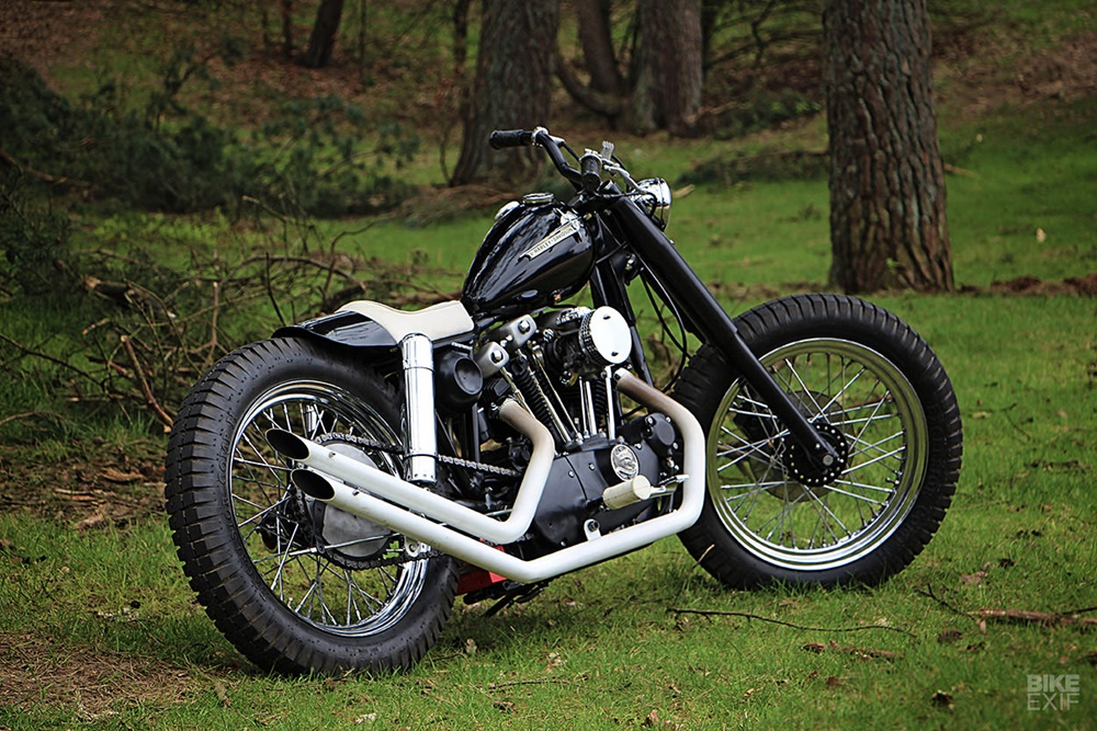 Pancake Customs: чоппер Harley-Davidson Ironhead Sportster