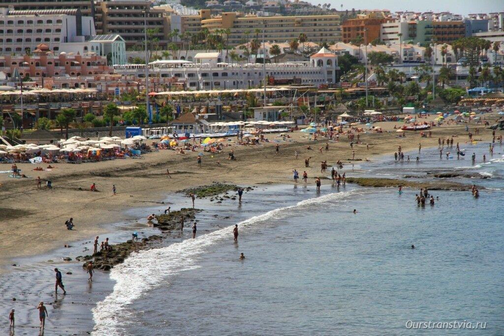 Фото пляжей Тенерифе - Фанабе и Торвискас