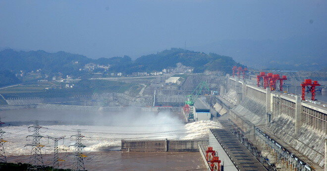 ГЭС «Три ущелья». Китай