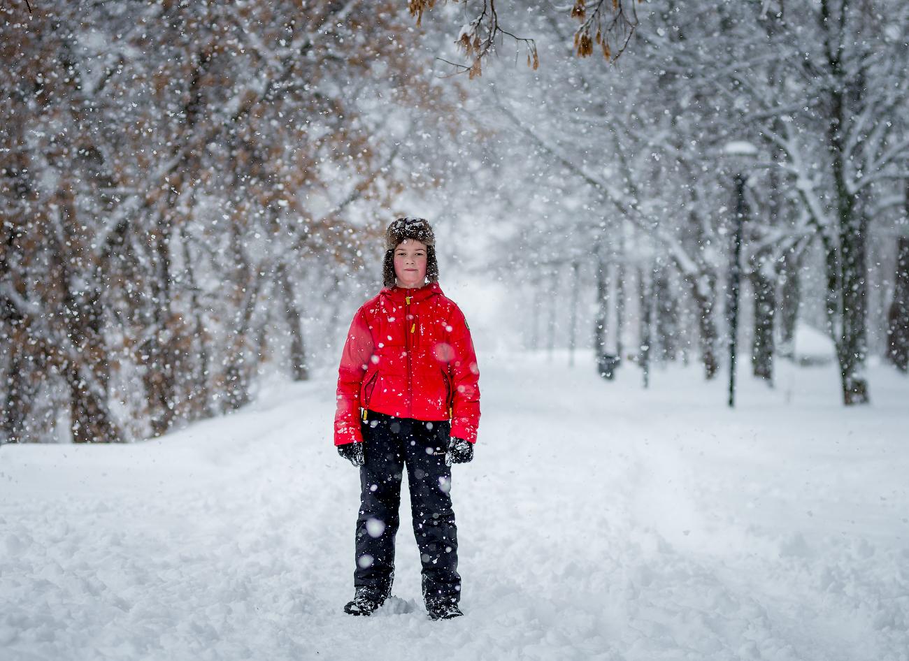 Прогулка в снегопад (НН, 03.12.2017)