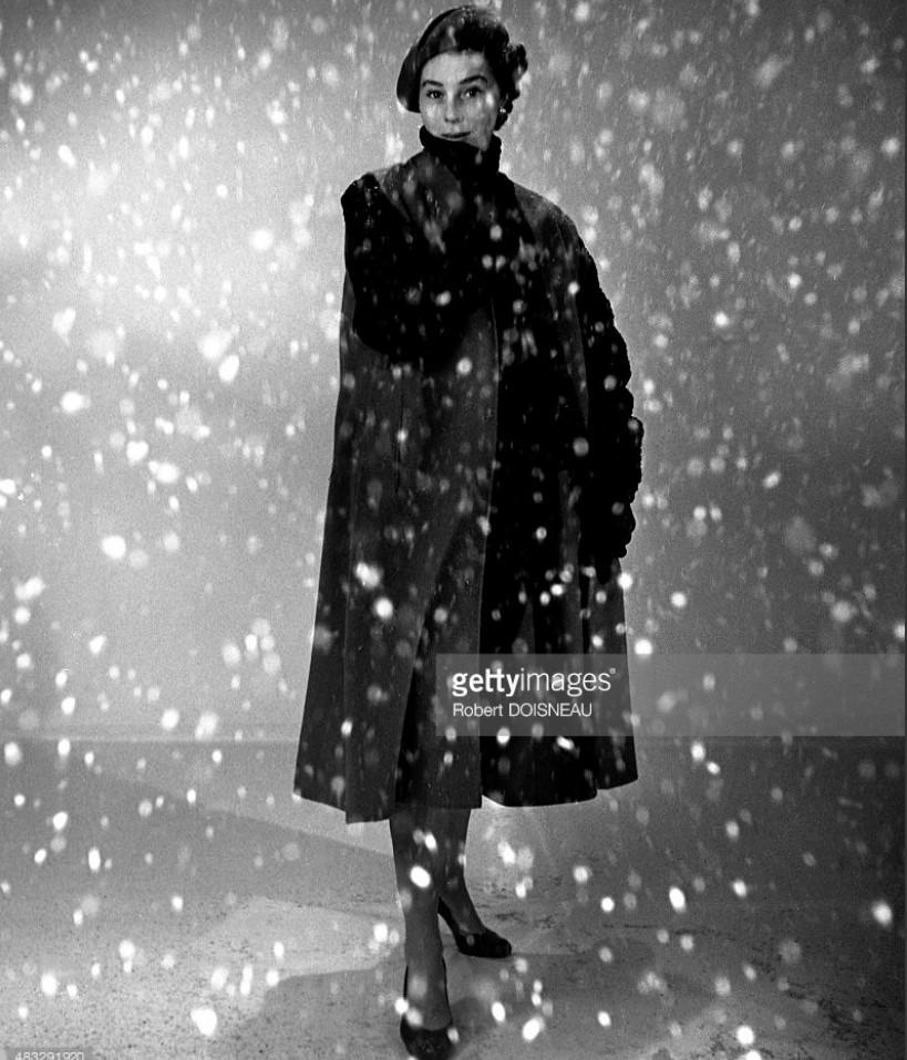 1951. Известная модель Беттина