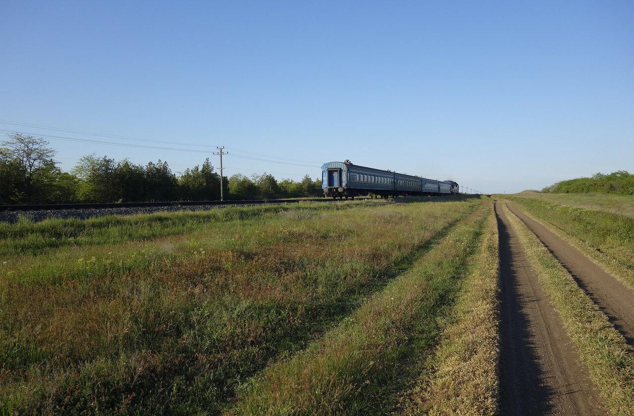 поезд на Керчь