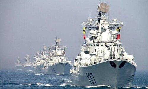 В воды Малайзии вошло более сотни лодок под флагом Китая