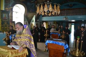 Adunarea preoților în satul Ilenuța