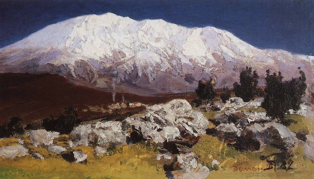 У подножия горы Хермон. 1882.jpg