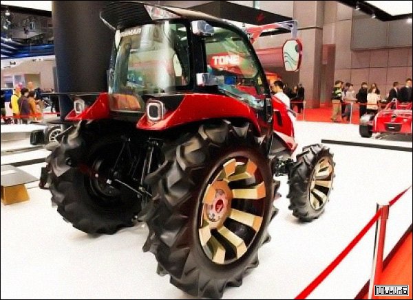 Японский трактор будущего