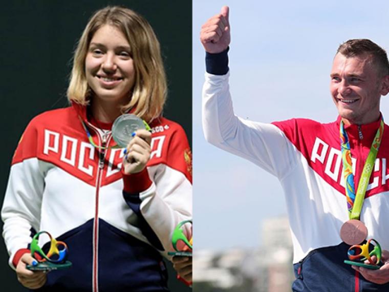 Омичам-олимпийцам Виталине Бацарашкиной иРоману Аношкину присвоены почетные спортивные звания