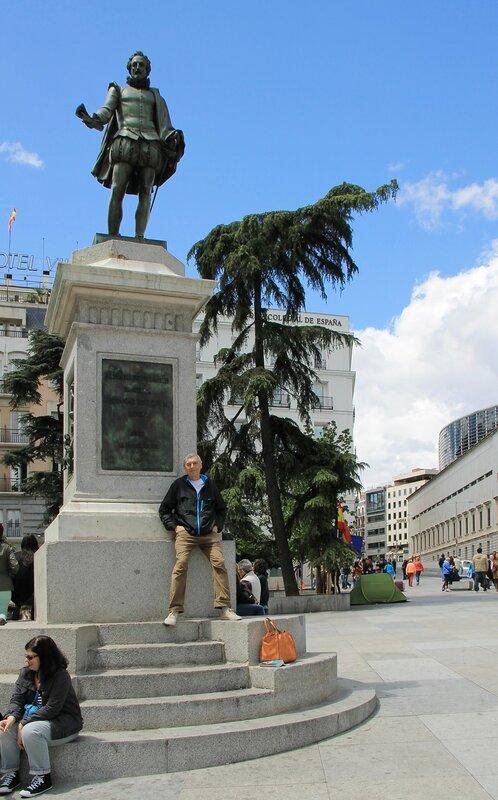 Мадрид. Площадь Кортесов (Plaza de las Cortes)