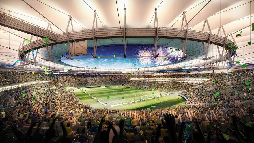 16. Самый оживленный стадион – Маракана На этом бразильском стадионе был установлен мировой рекорд п