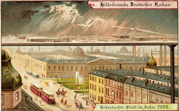 В 1900 году в Германии начали выпускать шоколадные конфеты под маркой Theodor Hildebrand und Sohn, в