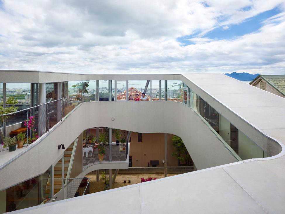 Toda House – птичье гнездо от архитектора Kimihiko Okada