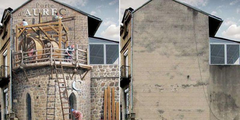 ?В каждом городе мира найдутся тысячи домов, выцветшие и обшарпанные стены которых создают удручающе