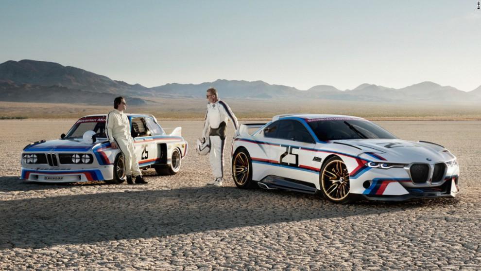 Сногсшибательная 3.0 CSL Hommage R была создала как дань уважения BMW 3.0 CSL (также известной как «
