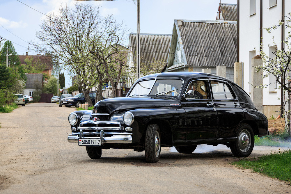 """ГАЗ М-20 """"Победа"""" — Как три истории переплелись вокруг одной машины (45 фото)"""