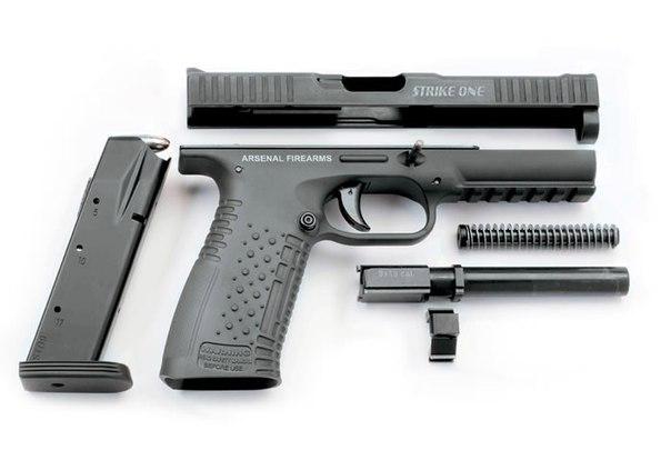 """Пистолет «Стриж» / """"Strike One"""" позиционируется как оружие для вооруженных сил и сил охраны правопор"""
