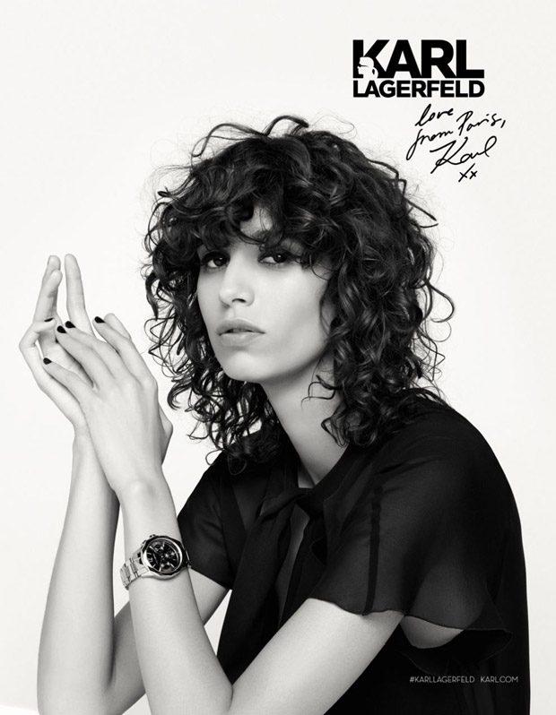 Рекламная кампания Karl Lagerfeld
