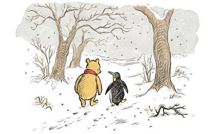 Винни-Пух обзаведется новым другом— пингвином