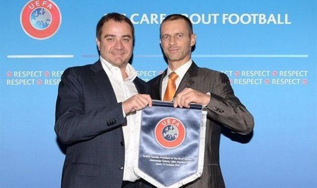 Новый президент УЕФА кконцу осени посетит государство Украину