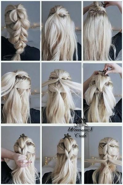 Фотоуроки плетения кос