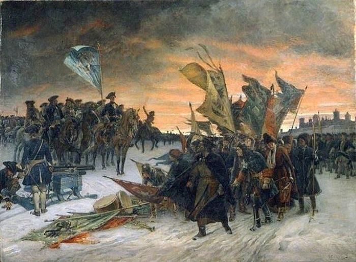 во время Северной войны