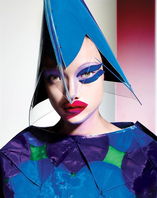 Yumi Lambert for 10 Magazine by Richard Burbridge