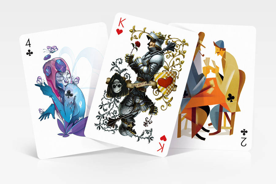 New Playing Cards Deck Created by Designers from all Around the World (19 pics)