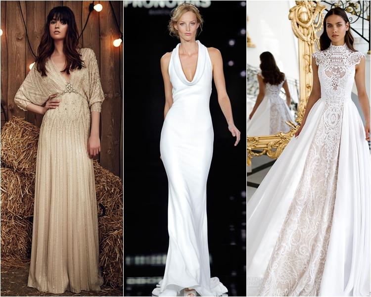 свадебные платья ретро весна 2017