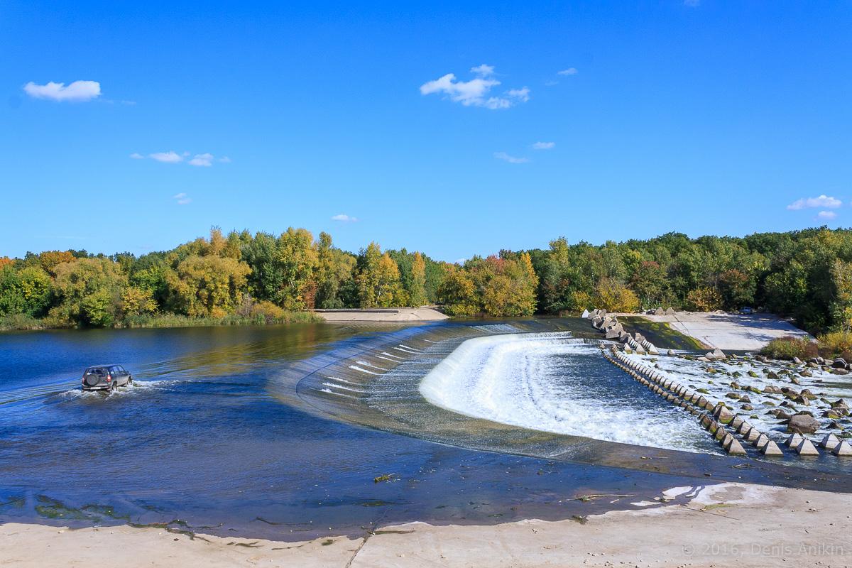 Переливная плотина на реке Большой Иргиз 7