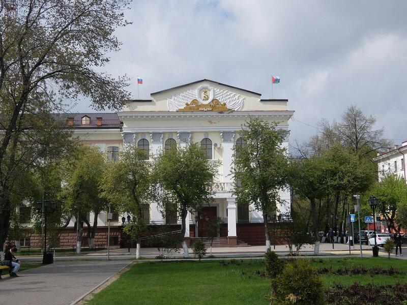 Тюмень - Здание управления МВД