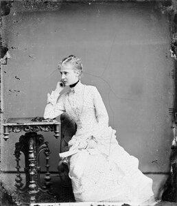 1883. Елизавета Августа Мария Агнесса, принцесса Саксен-Альтенбургская