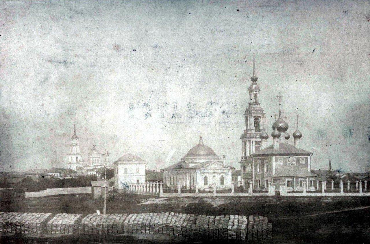 Берег Черемухи у Казанской церкви