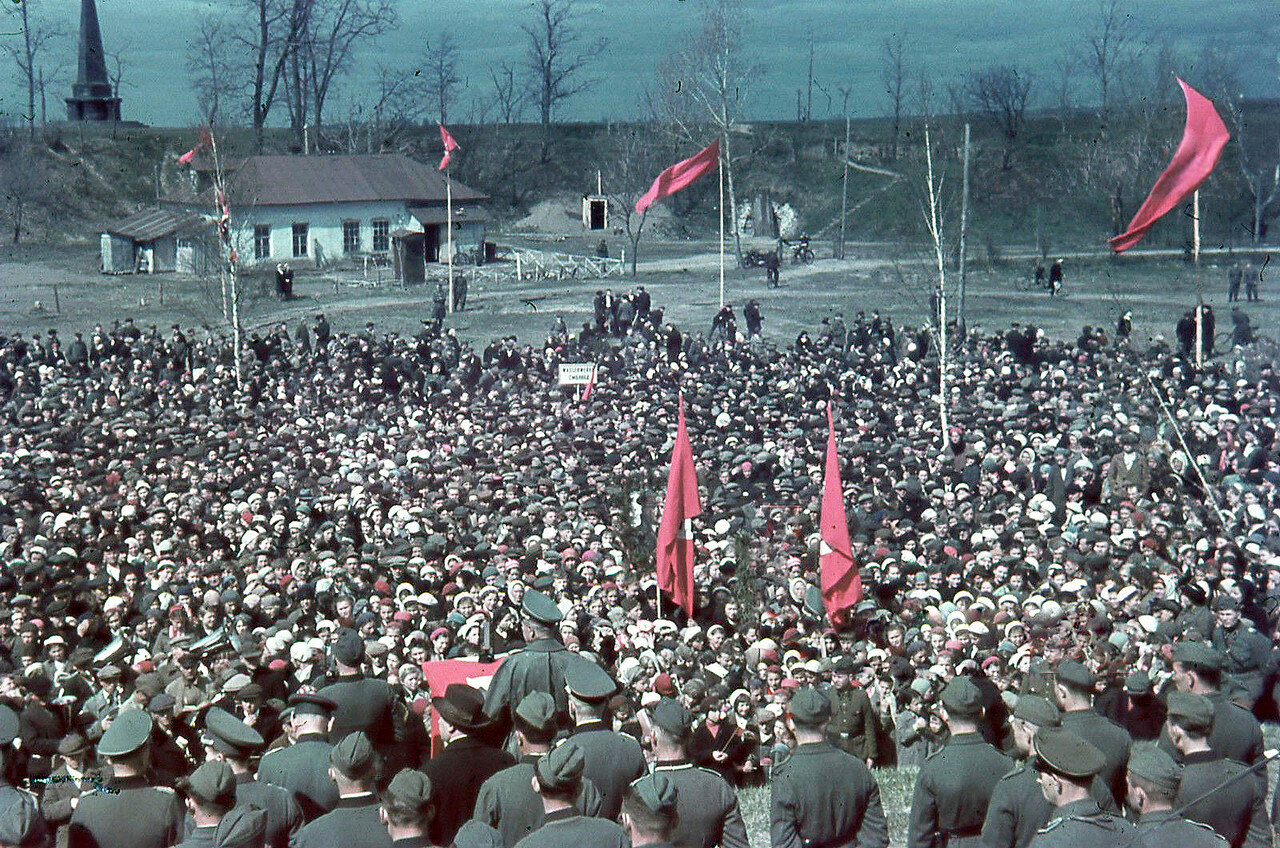 Митинг в ПКиО. Май
