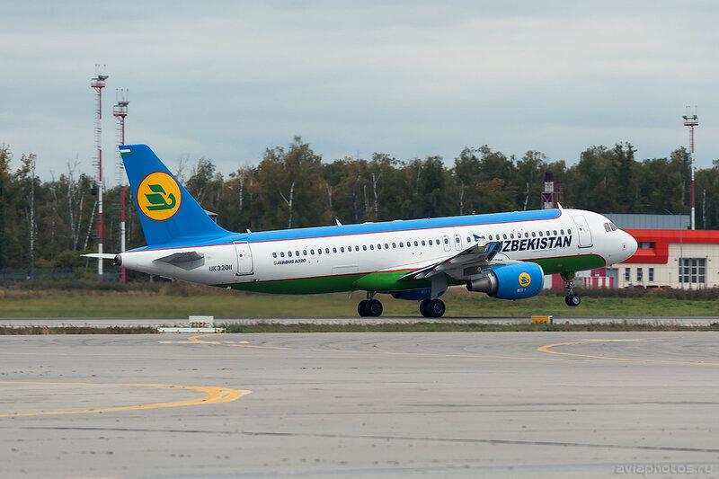 Airbus A320-214 (UK-32011) Uzbekistan 0007_D706455