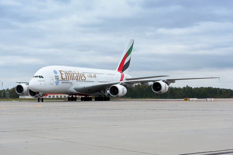 Airbus A380-861 (A6-EDC) Emirates 0175_D706539
