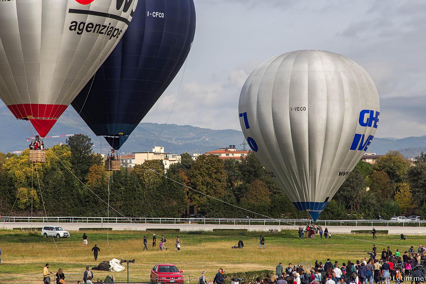 Фестиваль воздушных шаров во Флоренции