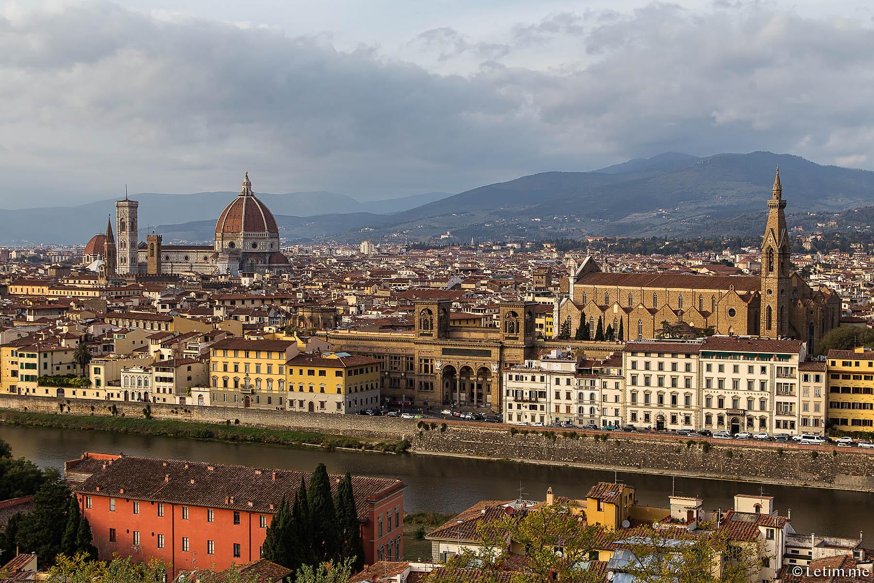 Набережная реки Арно. Флоренция