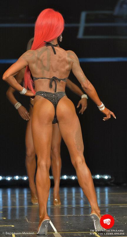 Категория: Фитнес-бикини 166см. Чемпионат России по бодибилдингу 2017