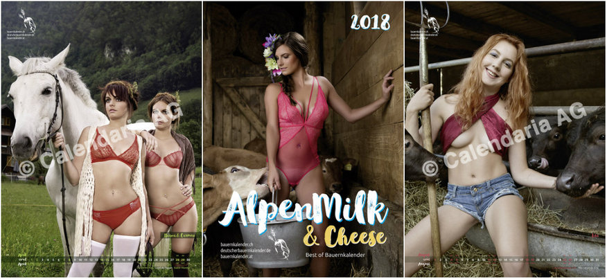 Календарь  «AlpenMilk & Cheese 2018»