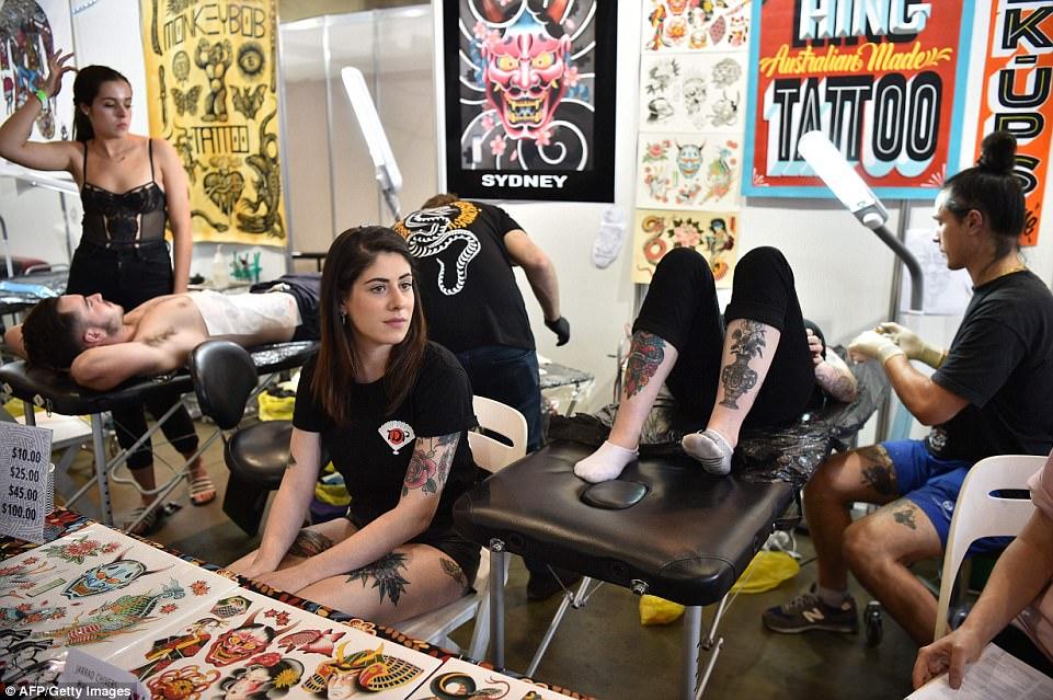 Фестиваль татуировки в Сиднее