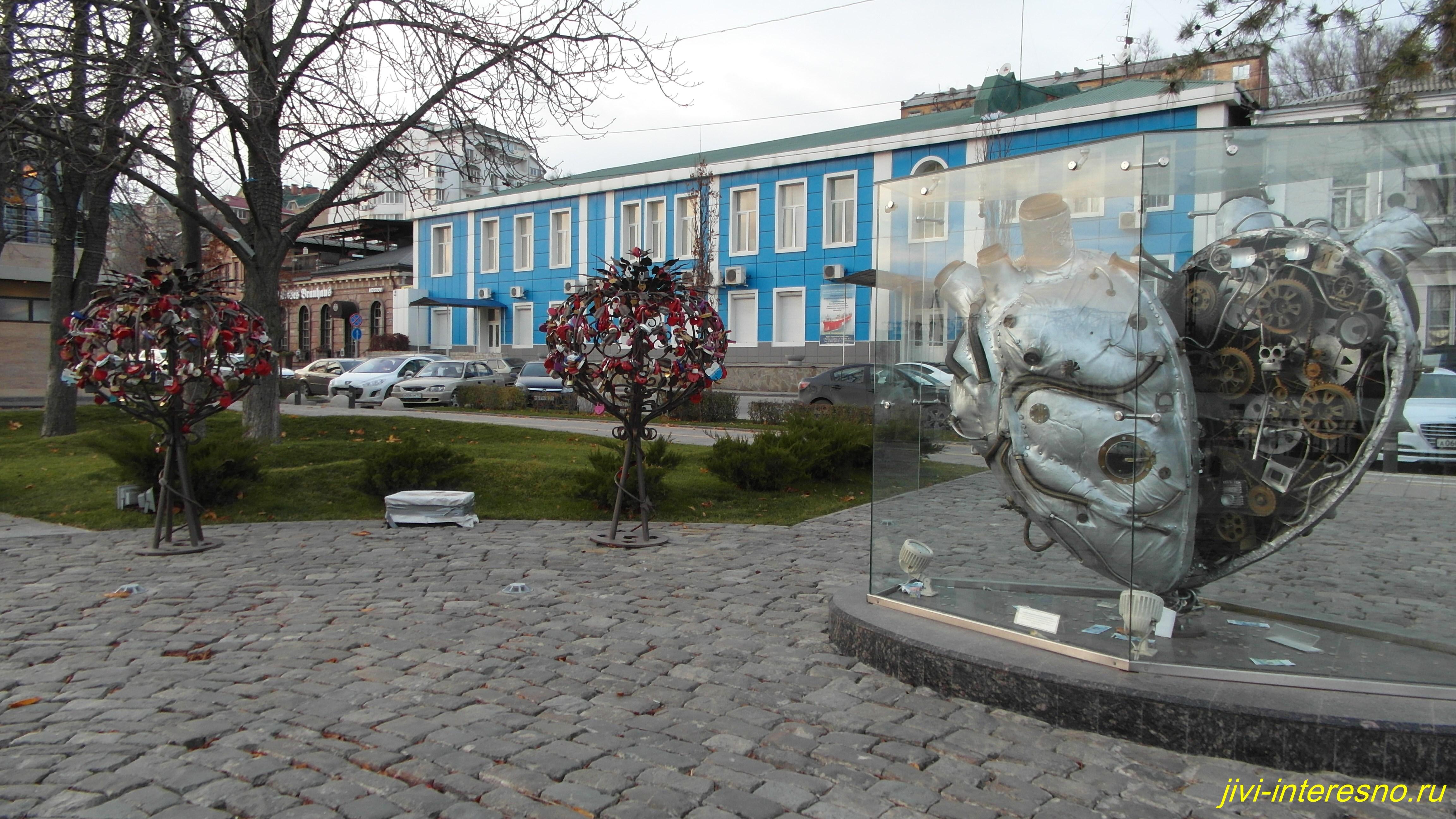 Ростов-на-Дону, набережная в ноябре
