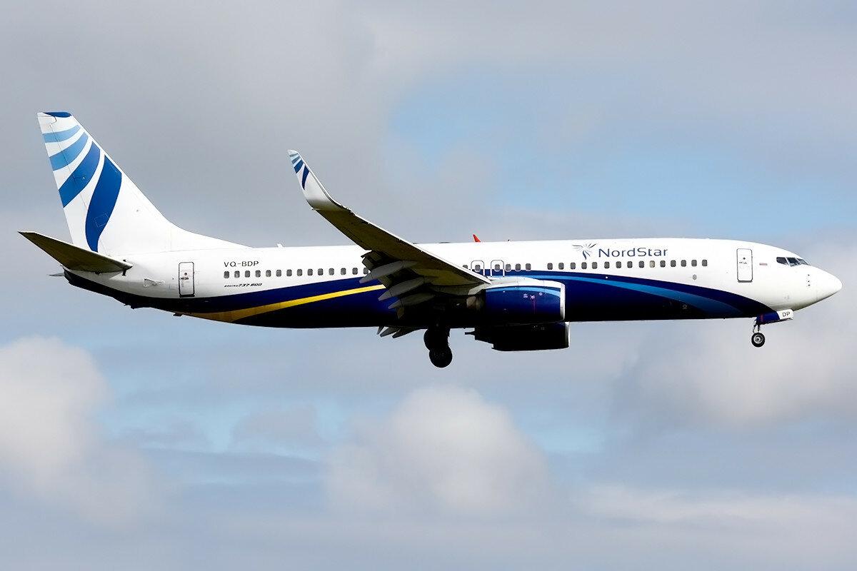 Boeing 737-8Q8. Nordstar. VQ-BDP.